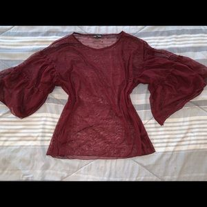 Maroon Express Blouse